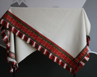 3d2cbcf9a62 Latvian Tradicional Folk Costume Cloak National Ethnic Baltic Womens  Clothing Wool Woven Weave Embroidery Handmade