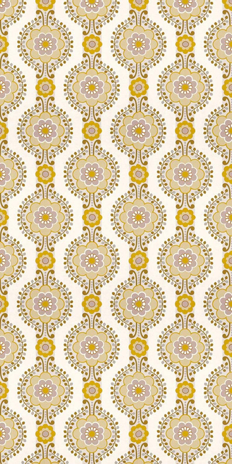 70s Wallpaper 0423al Per Meter O Roll Vintage Wallpaper Etsy