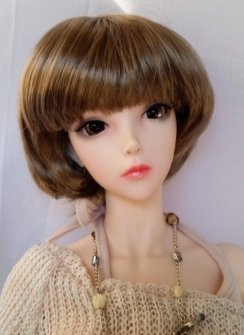 Monique TORI wig size 8//9 for EID Dollfie Liz Frost My Meadow in 3 COLORS