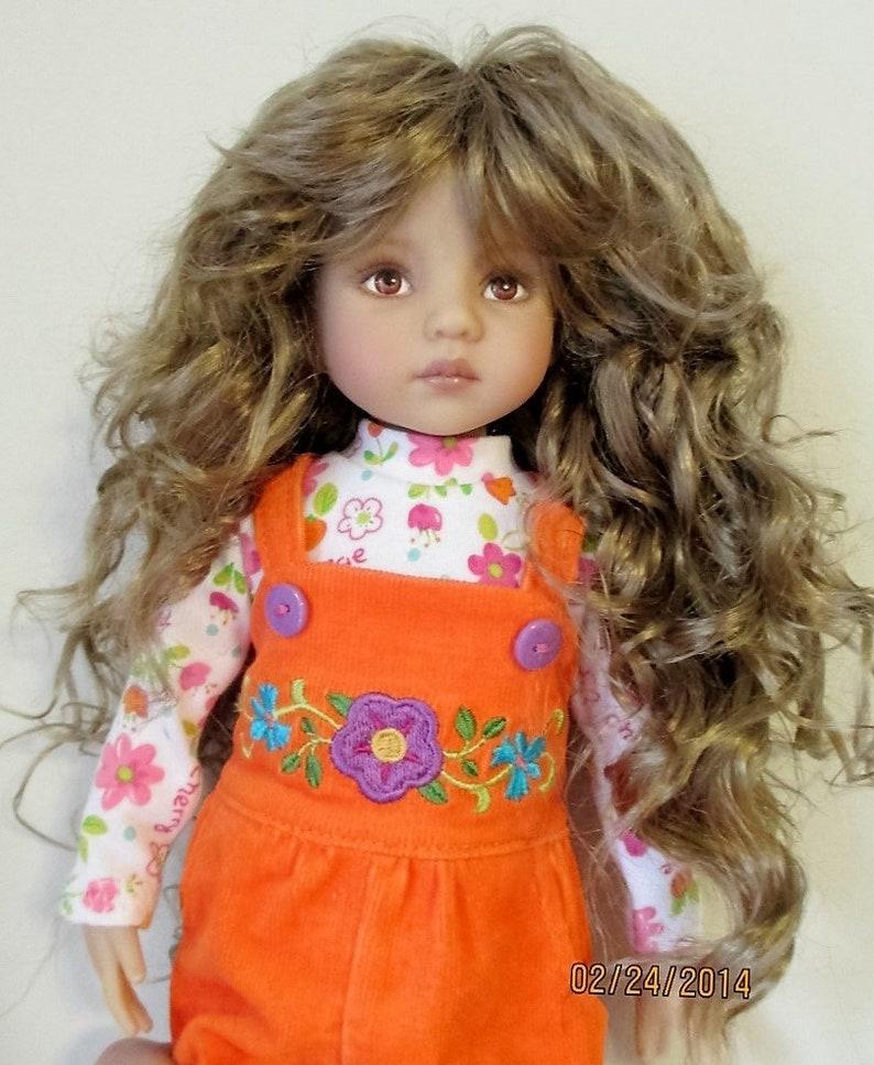 Monique SHAINE 7//8 Wig Effner Little Darlings Kish KID Ellowyne Volks GINGER