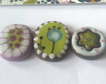 Tesserae or ceramic cabochons