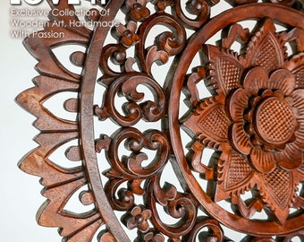 Wood carving wall art etsy
