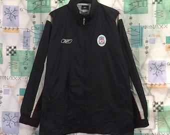 cab2e84571b REEBOK vintage 90s Reebok Liverpool Carlsberg zipper jacket