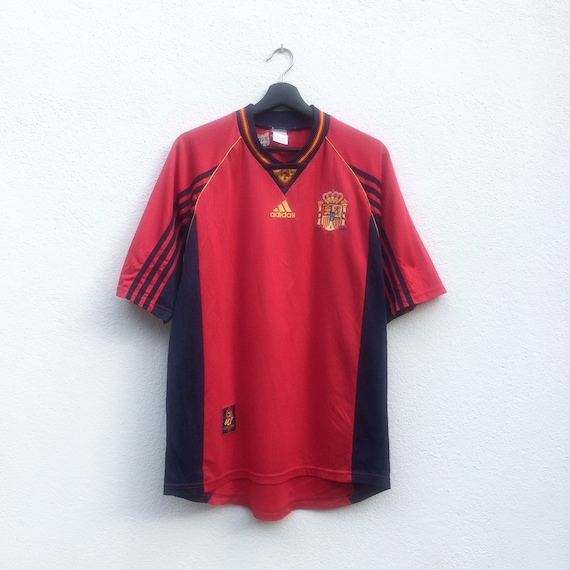 ADIDAS vintage 90s Adidas Spain jersey  be9e3cafb