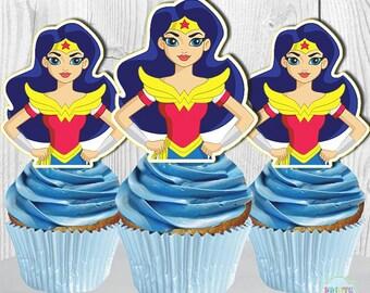Wonderwoman Cake Pop Etsy