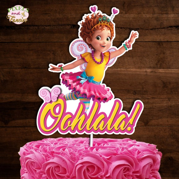 Wondrous Fancy Nancy Cake Topper Fancy Nancy Centerpiece Fancy Nancy Etsy Funny Birthday Cards Online Barepcheapnameinfo