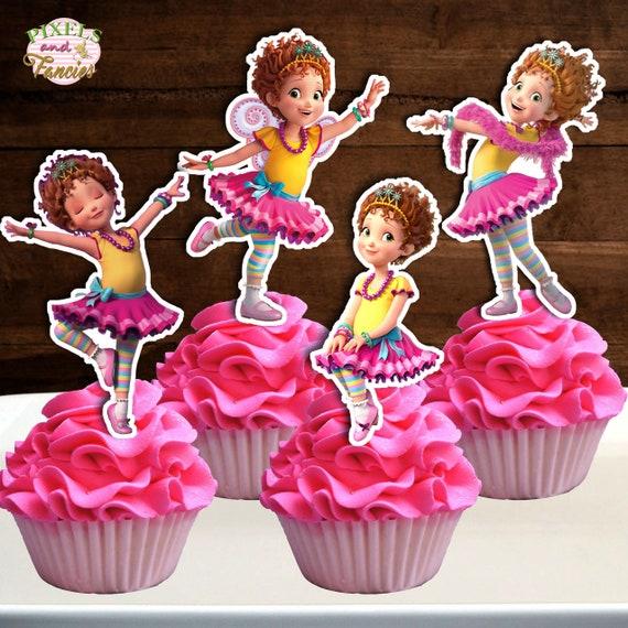 FANCY NANCY Cupcake Toppers Fancy Nancy Cupcake Picks ...