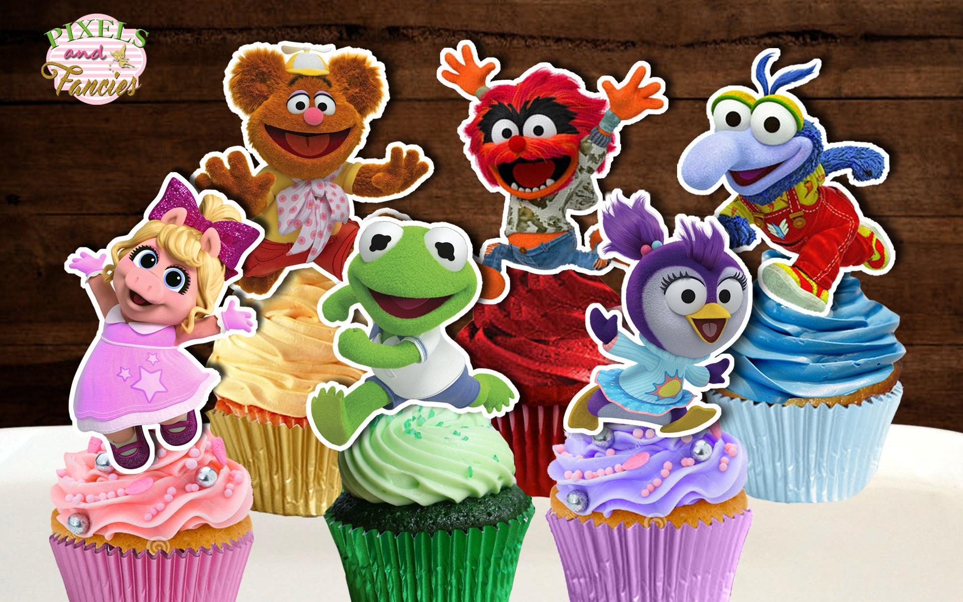 MUPPET BABIES Cupcake Toppers Muppet Babies Cupcake Picks ...