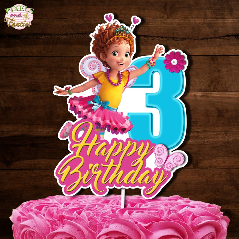 Phenomenal Fancy Nancy Cake Topper 3 Fancy Nancy Centerpiece Fancy Etsy Funny Birthday Cards Online Barepcheapnameinfo