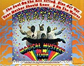 Vintage Magical Mystery Tour Vinyl by Beatles. Never been opened