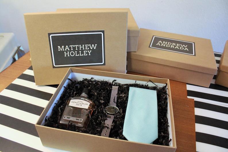 Groomsmen Box Diy Printables Wedding Gift Ideas Bachelor Bridal