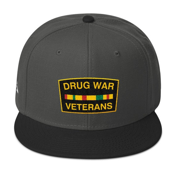 Drug War Veterans Snapback  a65d4fd757b3