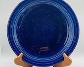 Homer Laughlin s Fiesta Cobalt Dinner Plates, Chop Plates, Bistro Salad Plates, Cups, Saucers, Mugs, Sweetener Holder