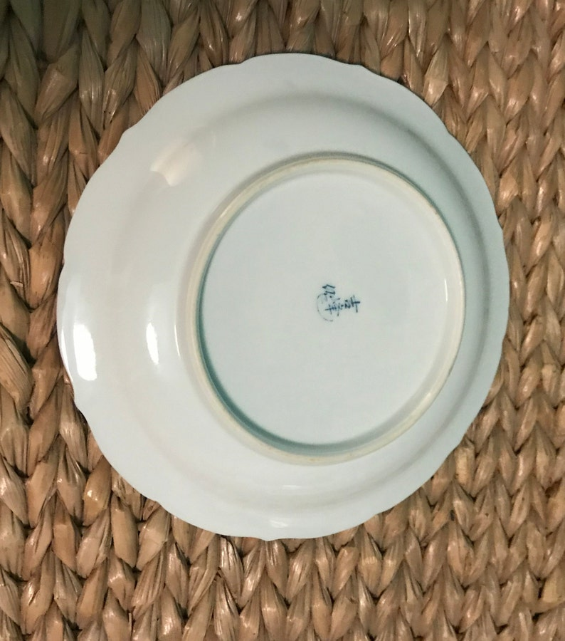 Japanese Stoneware Salad Plates with Textured Facade