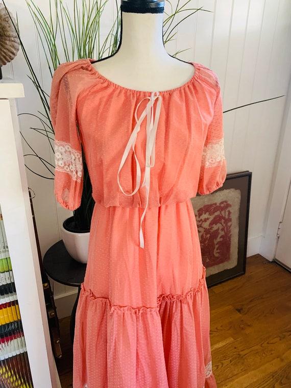 Roberta of California Poplin Prairie Dress - image 9