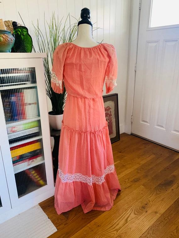 Roberta of California Poplin Prairie Dress - image 3