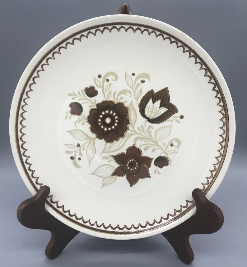 Royal China's Cavalier Ironstone Nutmeg Dinnerware/ Nutmeg Dinner Plates,  Bread Plates, Cereal Bowls, Saucers and Cups