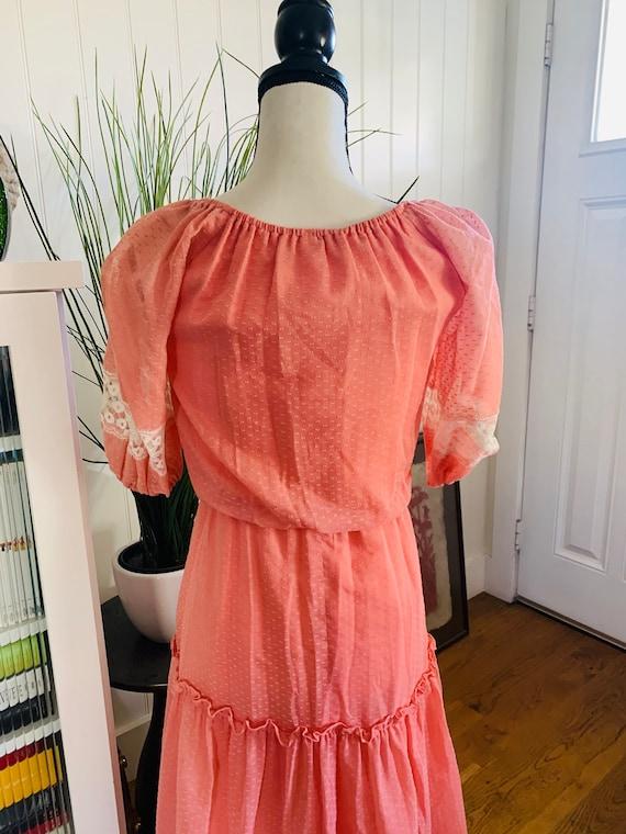 Roberta of California Poplin Prairie Dress - image 4