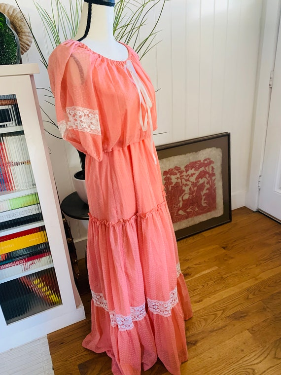 Roberta of California Poplin Prairie Dress - image 2