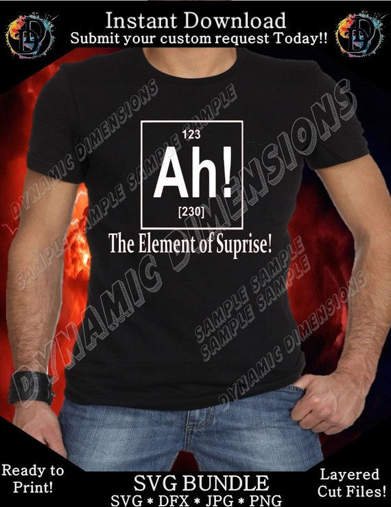 69eacebc19ae4 Ah Periodic Table Shirt svg Instant Download Unisex Funny