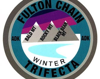 Fulton Chain Trifecta Sticker Winter Edition