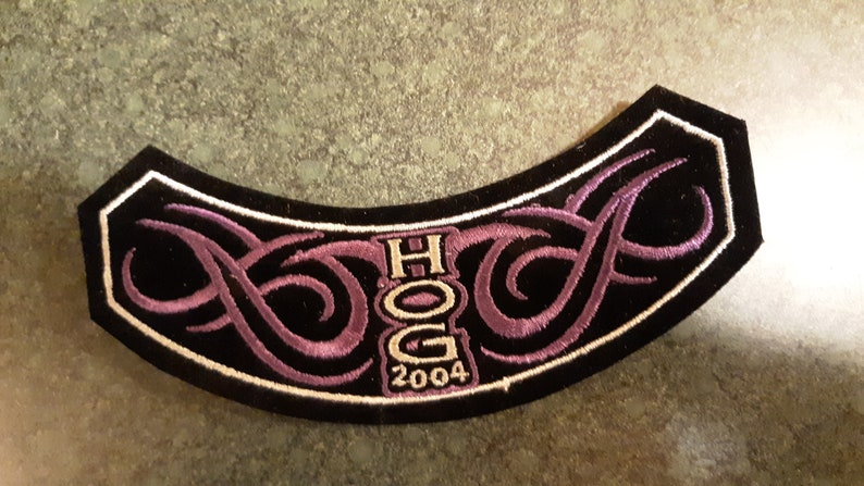 Harley Davidson Owners Group 2004 Rocker Patch