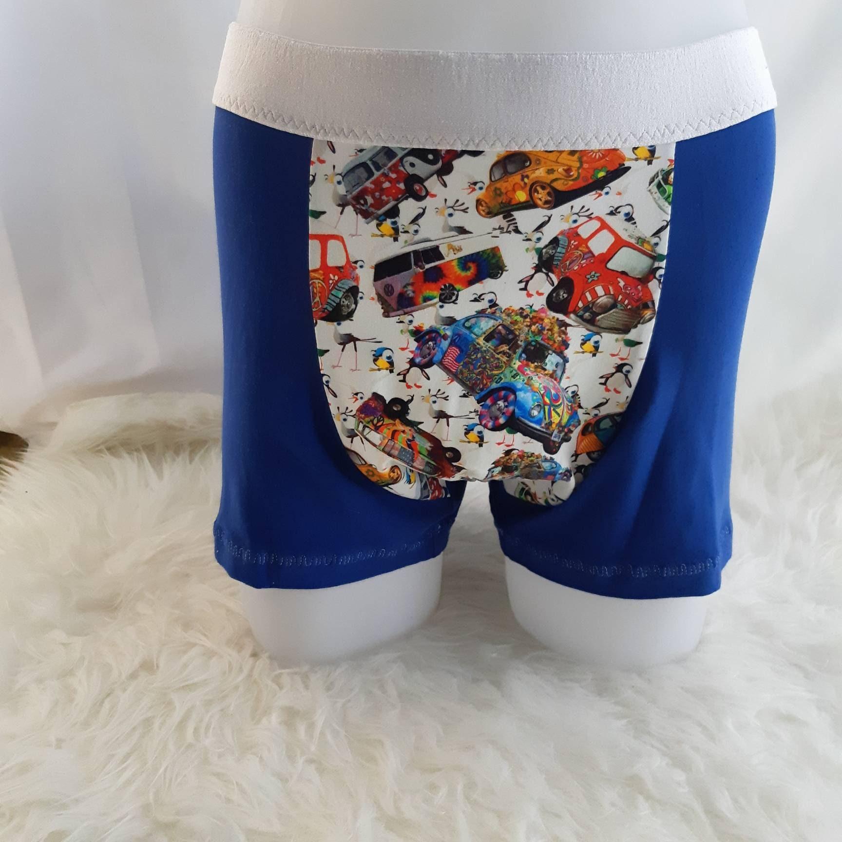 Mens Boxer Briefs Underwear Happy Black Cat Printed Underpants,M//L//XL//XXL//3X