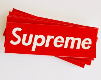 Supreme Box Logo Stickers   Kawaii Stickers hype beast stickers supreme  hoodie supreme t shirt authentic supreme sticker packs 4a9bac402083