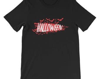 Halloween Bats T-Shirt Design