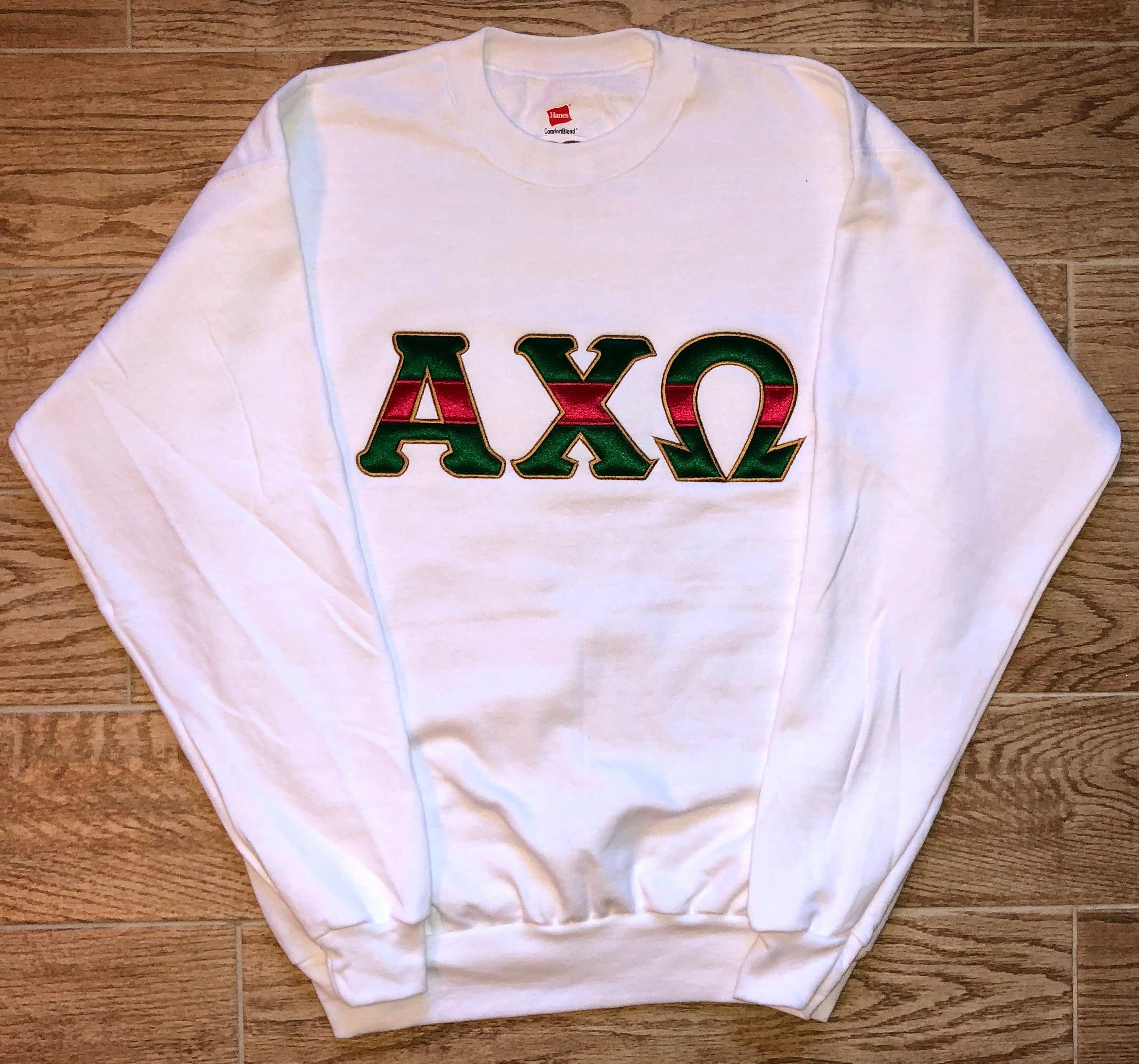 e47d58d51b2 Gucci inspired Sorority Sweatshirt Gucci Sweatshirt Sorority