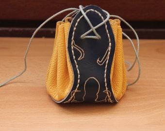 purse - Octopus pattern leather wallet
