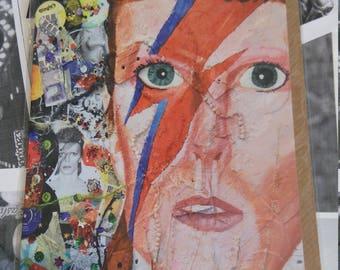 Ziggy (David Bowie) - Greeting Card