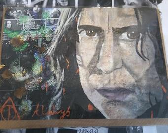 Snape (Alan Rickman) - Greeting Card