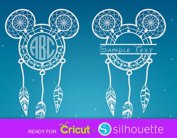 Disney Svg Dreamcatcher Svg Dream Catcher Svg Disney Etsy
