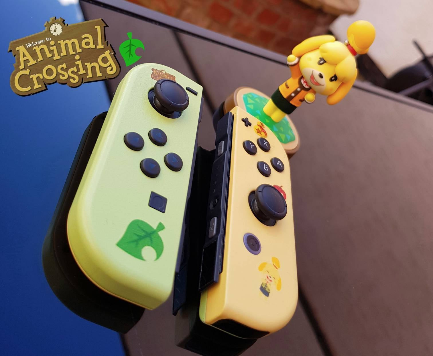 Animal Crossing Nintendo Switch Custom JoyCon Pair