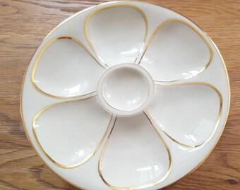 Haviland porcelain de Limoges 6 Oyster cream plates model limited