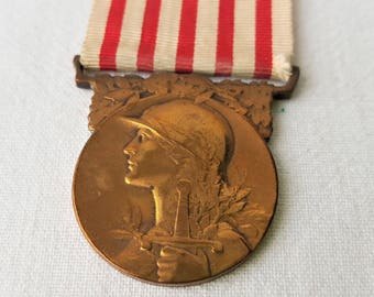 Bronze Commemorative Medal of the great war 1914-1918 - MM15