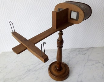 Stereoscopic Viewer footed ers 21072 1900