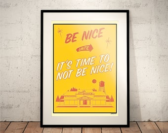 Roadhouse (Movie Posters // Film Posters // Dorm Room Ideas // Wall Decor // Patrick Swayze // Dirty Dancing // Vintage // Prop)