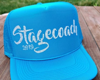 c527f91314983 Stagecoach Festival 2019   Women s Trucker Hat   Country Music Stagecoach    Country Music   Stagecoach Festival