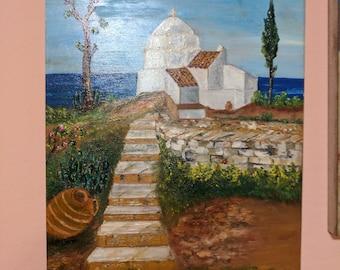 A small church in Paros (Greece)