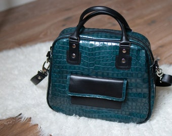 Charly's French leather bag