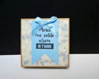 Book block notes - gift idea for a home - handmade