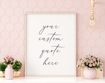 gift Coco fashion quote wall art print A girl should  be two things 1076