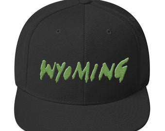 972ac8b037395 Wyoming Merch Kanye West Ye 2018 Album Cover Snapback Hat