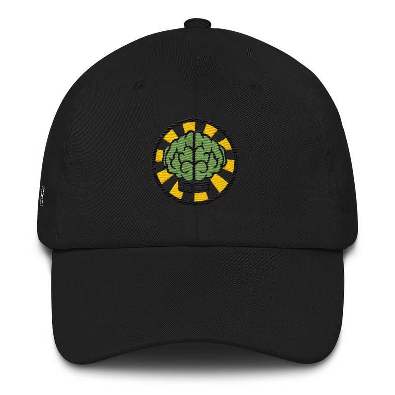 bc41e91c503cb NERD Brain logo embroidery Dad cap snapback. HypeMonsterz.