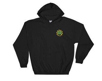 Pharrell Williams N*E*R*D Hooded Sweatshirt - NERD hoodie No one Ever Really Dies Inspired