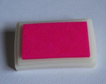 Neon pink ink color