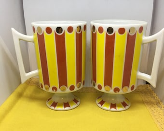 "Vintage Royal Crown Arnart ""Smug Mugs"" Carnival Collection 4156"