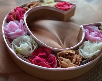 Decorative Flowers Letter